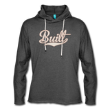 Built Lightweight Terry Hoodie - charcoal gray