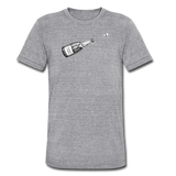 Champagne Campaign tee - heather gray