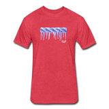 Frozen Rope Tee - heather red