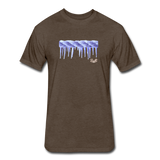 Frozen Rope Tee - heather espresso