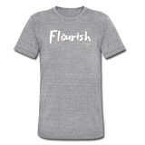 Flourish Tee - heather gray