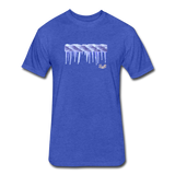 Frozen Rope Tee - heather royal