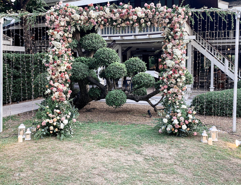 The Wedding Arch : The Modern Take for Your Outdoor Wedding