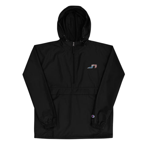 JN Logo Embroidered Champion Packable Jacket