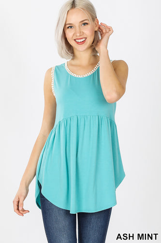 MINT SLEEVELESS TOP