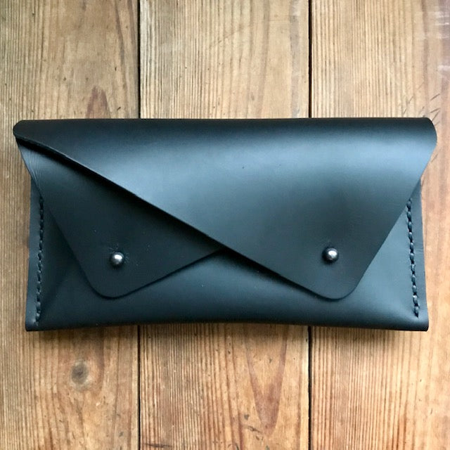 Double Pocket Clutch BLACK