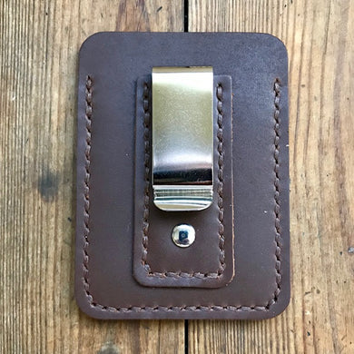 front pocket wallet with money clip