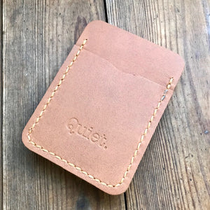 Mens Leather Money Clip Wallet