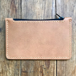 Zipper Clutch TAN