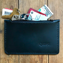 Load image into Gallery viewer, Zipper Clutch BLACK