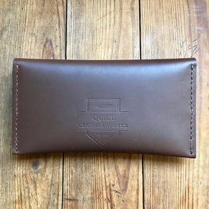 Double Pocket Clutch BROWN