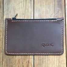 Load image into Gallery viewer, Zipper Clutch BROWN