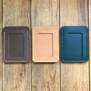 Window Card Wallet Tan