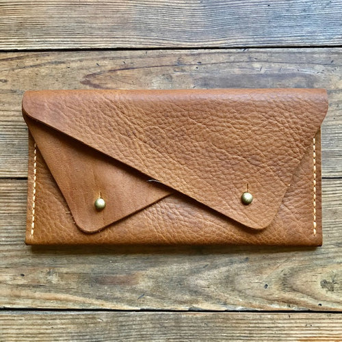 Double Pocket Clutch WALNUT