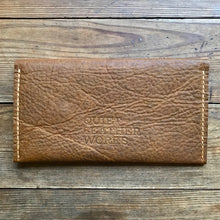 Load image into Gallery viewer, Single Pocket Clutch WALNUT