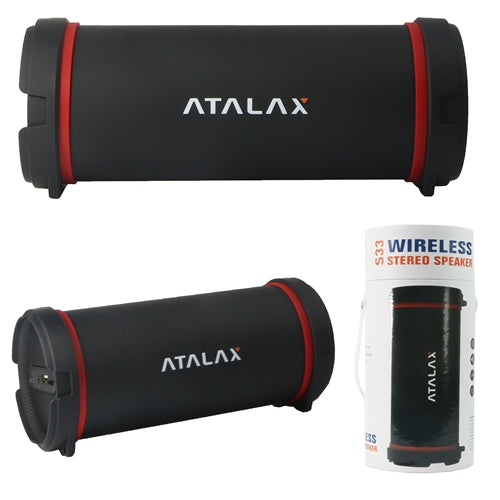 Wireless Speaker S33 ATALAX Bazooka Stlyte