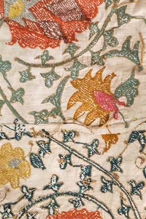 Embroidered French Linen