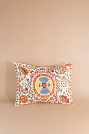 French Embroidered Standard Pillowcase