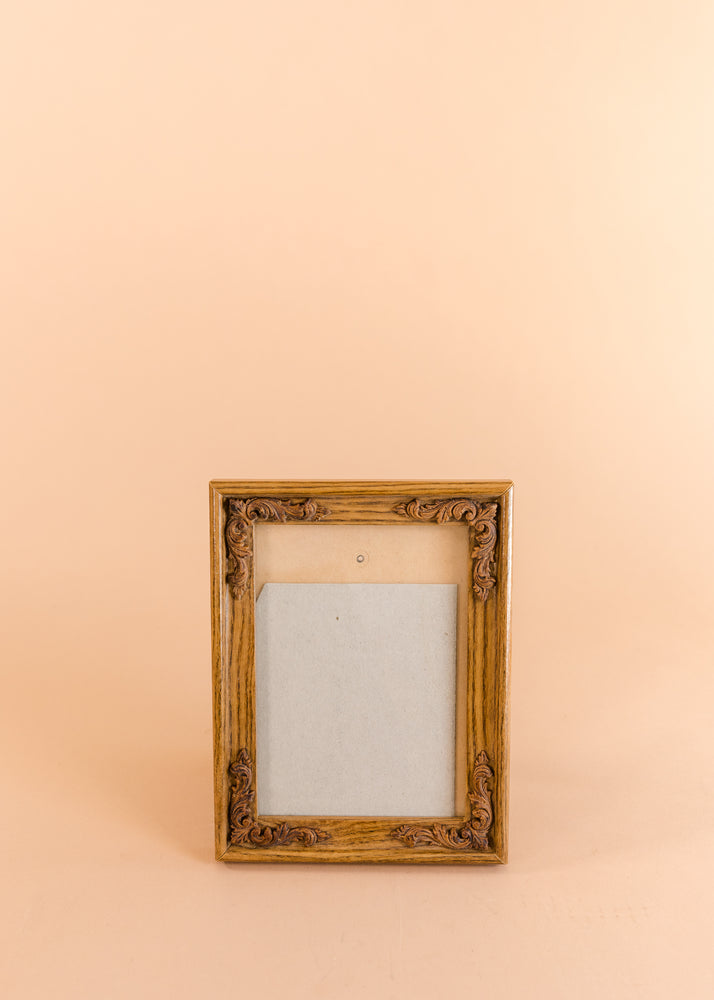 Wooden Flowers Frame