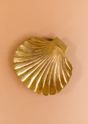 Brass Sea Shell Dish