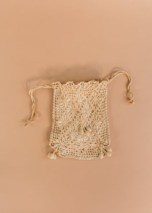 1930s Crocheted Handbag