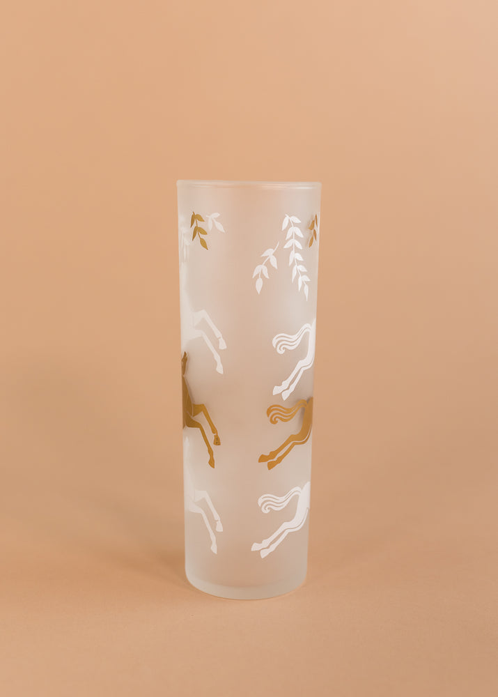Set of 10 Horse Glasses