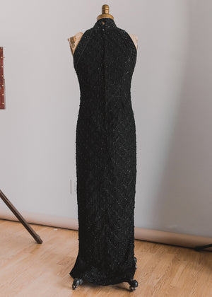 Load image into Gallery viewer, Beaded Full Length Dress