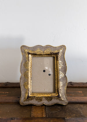 Hand Painted Italian Picture Frame