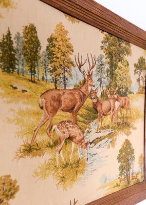 Deer Dimensional Tapestry