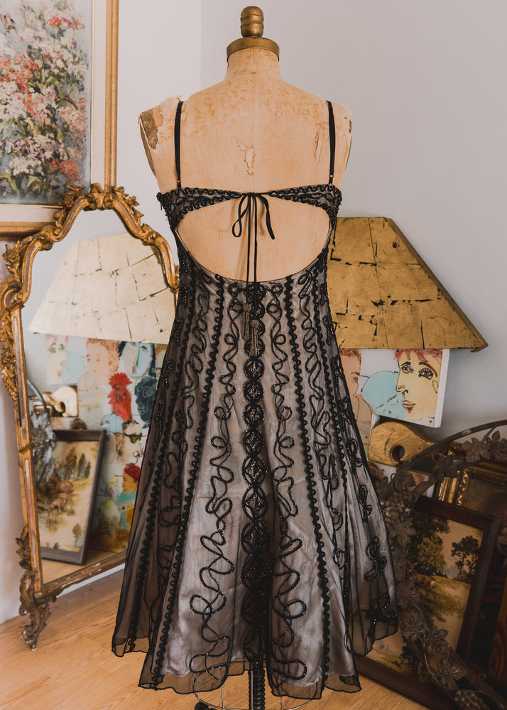 Beaded 1920s Inspired Cocktail Dress