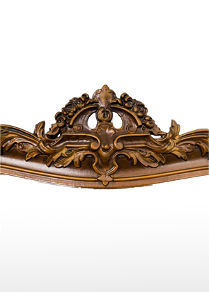 Load image into Gallery viewer, Victorian Deep Brown Mirror