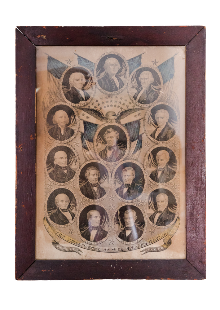 Load image into Gallery viewer, 1860s Presidential Poster