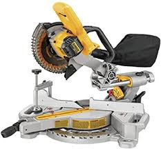 "DeWalt 20V MAX* 7 1/4"" Sliding Miter Saw (Tool Only) DCS361B"