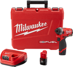 "Milwaukee M12 FUEL™ 1/4"" Hex Impact Driver Kit 2553-82"