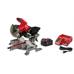 "Milwaukee M18 FUEL™ 7-1/4"" Dual Bevel Sliding Compound Miter Saw Kit"