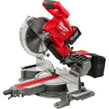 "Milwaukee M18 FUEL™ 10"" Dual Bevel Sliding Compound Miter Saw Kit 2734-81HD"