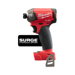 "Milwaukee M18 FUEL™ SURGE™ 1/4"" Hex Hydraulic Driver (Tool Only) 2760-80"