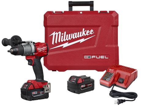 "Milwaukee M18™ FUEL 1/2"" Hammer Drill Kit 2804-82"