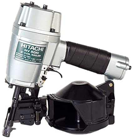 Hitachi Round Head 1-1/4 -Inch to 2 -Inch Coil Framing Nailer NV50A1