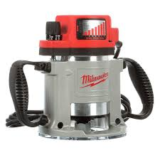 MIlwaukee 3-1/2 Max HP Fixed-Base Production Router 5625-80