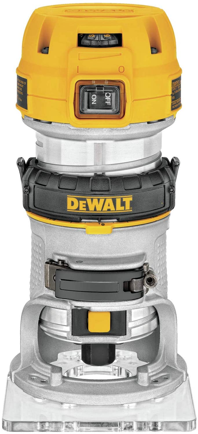 Dewalt 1-1/4 HP Max Torque Variable Speed Compact Router DWP611