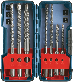 Bosch 7 pc. SDS-plus® Bulldog™ Rotary Hammer Bit Set HCK001