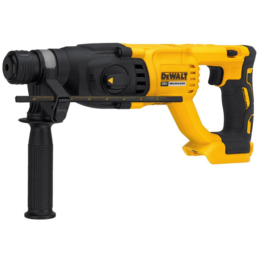 "Dewalt 20V Max XR Brushless 1"" D-Handle Rotary Hammer (Tool Only) DCH133B"