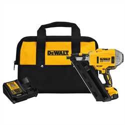 DEWALT 20V MAX* Cordless 30° Paper Collated Framing Nailer Kit DCN692M1