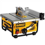 "DeWalt 10"" Compact Job Site Table Saw with Site-Pro Modular Guarding System DWE7480"