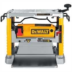 "DeWalt 12-1/2"" Thickness Planer with Three Knife Cutter-Head DW734"