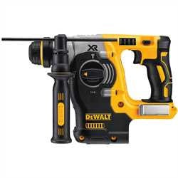 "DeWalt 20V Max* XR Brushless 1"" L-Shape SDS Plus Rotary Hammer (BARE TOOL) DCH273B"