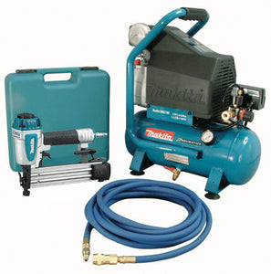 2 hp Air Compressor And Brad Nailer Kit MAC700-KIT3