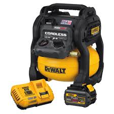 DeWalt FLEXVOLT® 60V MAX* 2.5 Gallon Cordless Air Compressor Kit DCC2560T1
