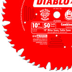Diablo D1050X 10 in. x 50 Tooth Combination Saw Blade